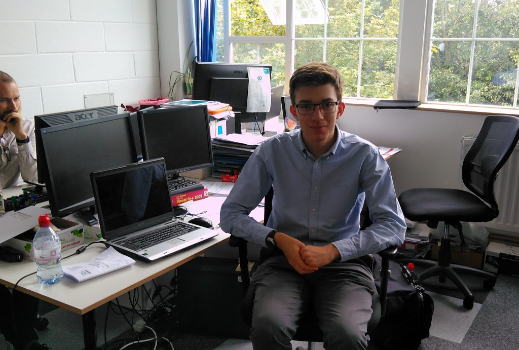 Work experience – a student's perspective of home energy